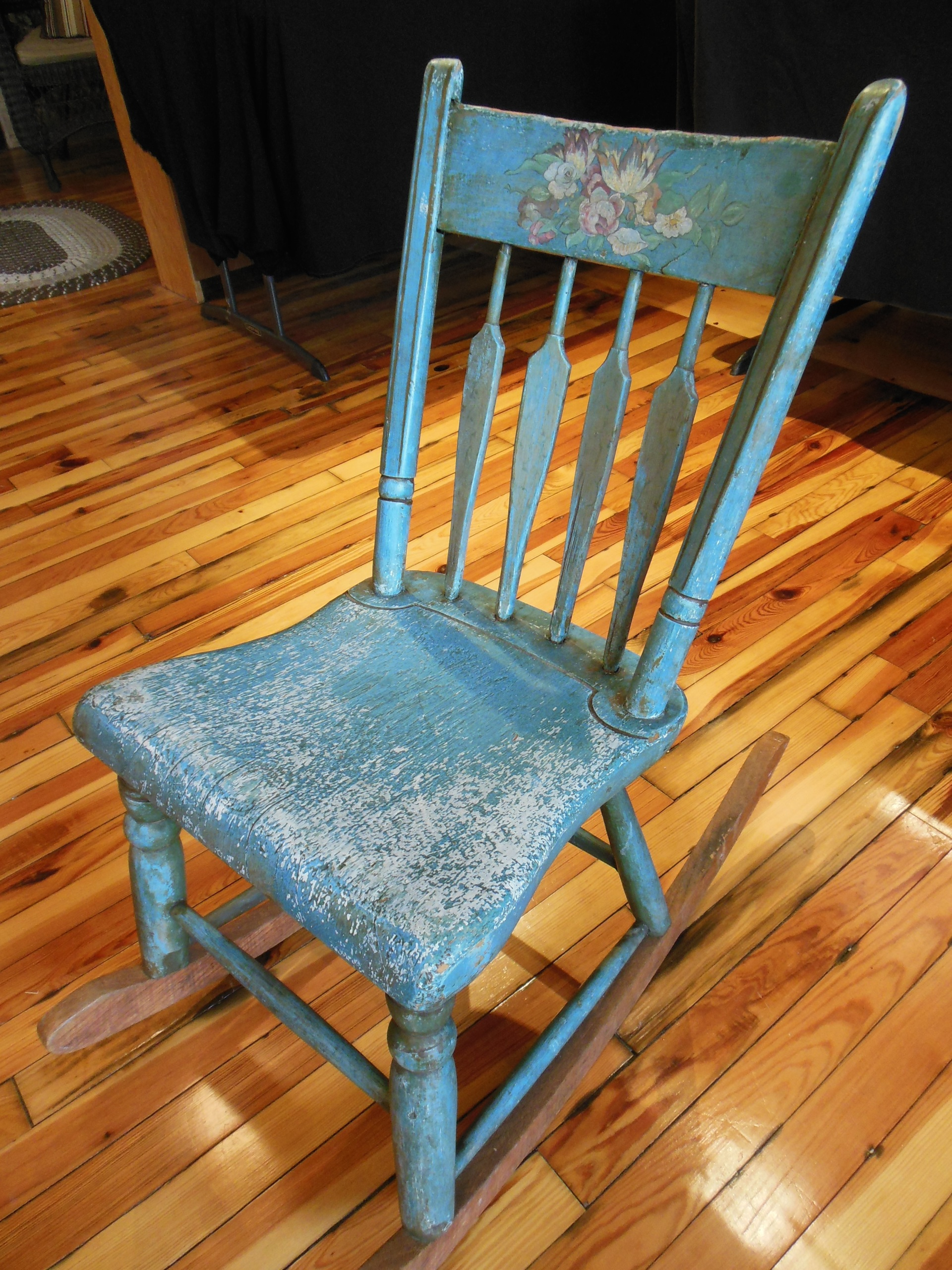 Store > Furniture > Painted Rocking Chair